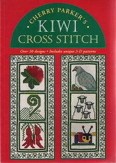 Cherry Parker's Kiwi Cross Stitch book