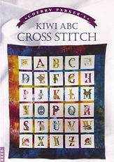Cherry Parker's Kiwi ABC cross stitch book