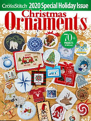 Just Cross Stitch Christmas Ornaments issue