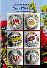 New Zealand Flowers Cross Stitch Ball