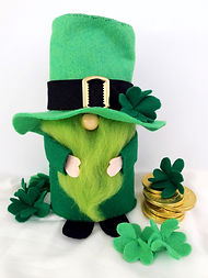 Lucky Leprechaun felt pattern