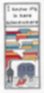 I know it's in  here somewhere cross stitch bookamrk pattern