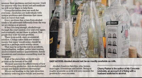 Article on Chronic Alcoholism