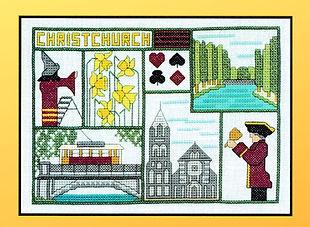 Christchurch cross stitch pattern