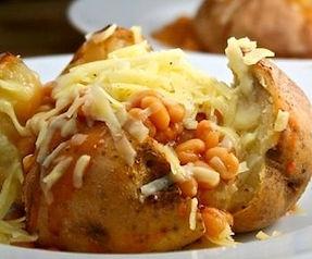 Easy Jacket Potatoes