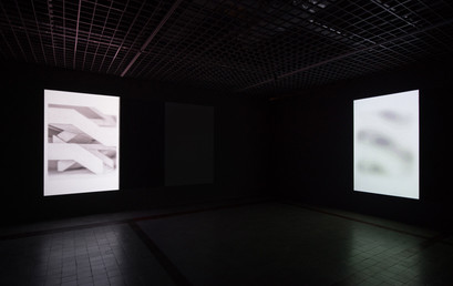 Vista de sala. S/T, de la serie LA MEMORIA DEJA PASO A LA ALUCINACIÓN.