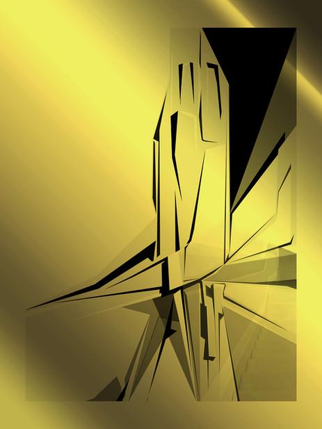 Sin título #9 | Untitled #9 [Dorados | Gilded]