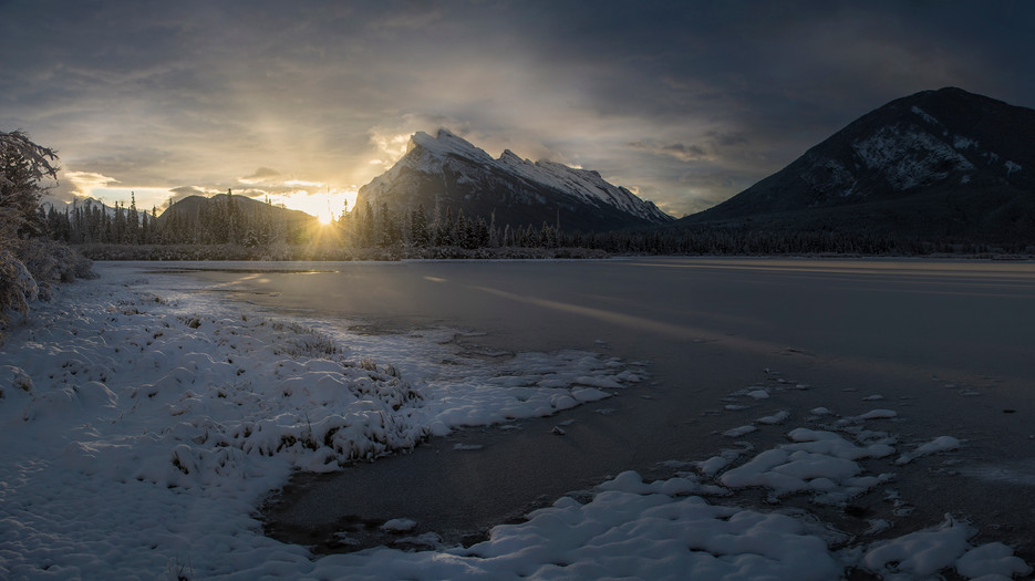 Lake Vermilion Sunrise Panoramic