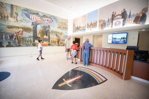 Eisenhower Museum Admission Desk