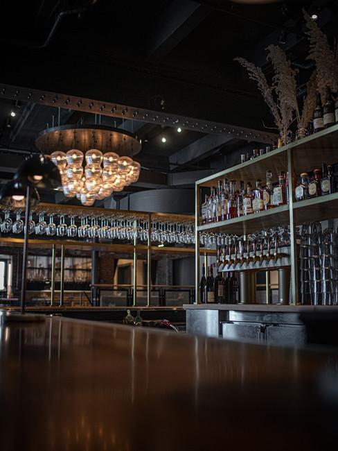 Bar at Crossroads Hotel in Kansas City