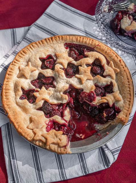 Cherry Pie - Styled Food Photography