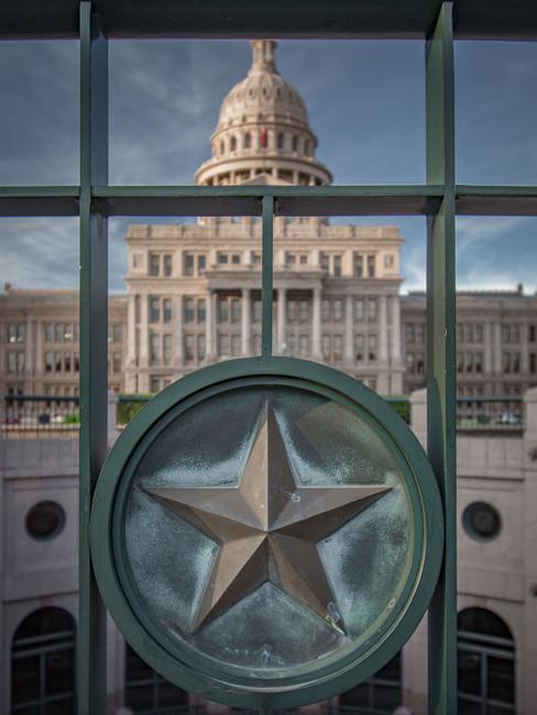 Detail shot at the Texas Capitol