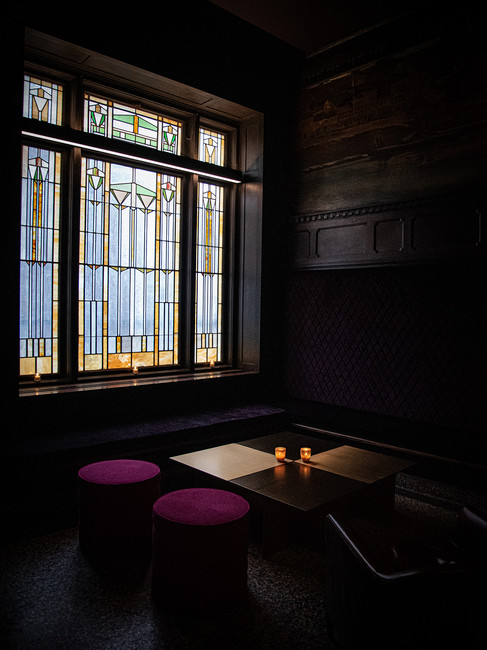 Interior of Savoy at 21c Hotel in Kansas City