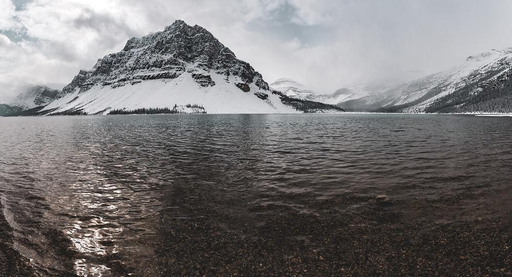 snowy-mountain-lake-canada-rockies