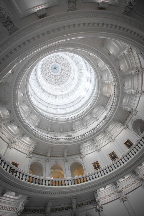 Interior Capitol Dome - Texas
