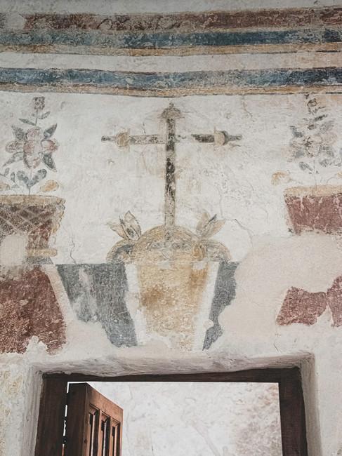 Door detail of Mission San Concepcion