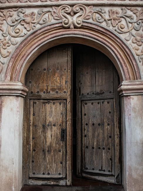 Door detail, Mission San Xavier