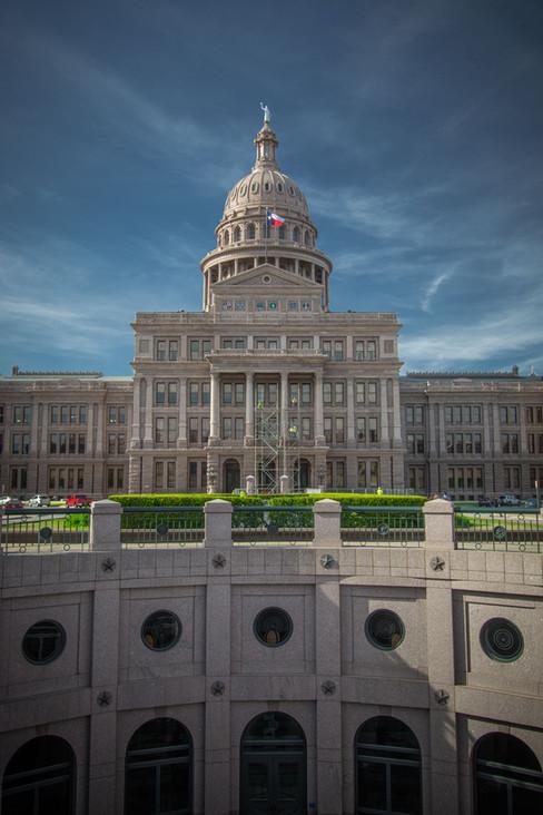 Exterior, Texas Capitol Dome
