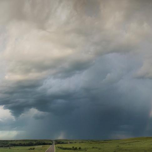 Behind the Shot: Flint Hills Storm Panorama
