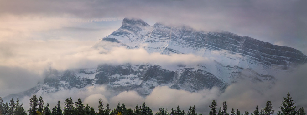 Mount Rundle Panoramic