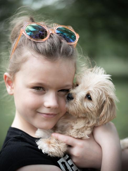 Editorial Pet Portrait