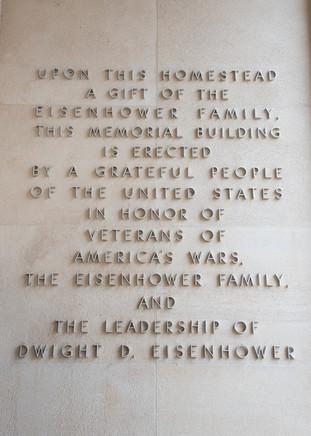 Eisenhower Museum, Quote