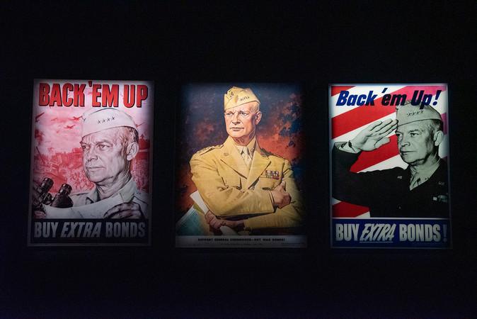Eisenhower Museum, World War II Posters
