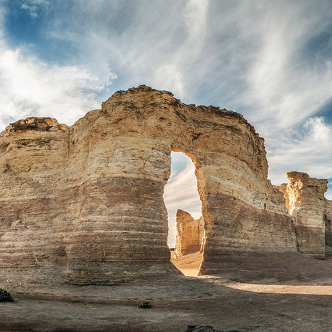 Towers of the High Plains: Monument Rocks