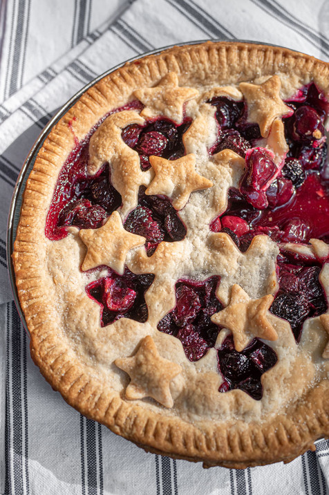 Cherry Pie | Styled Food Photography