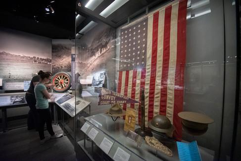 Eisenhower Museum Exhibit