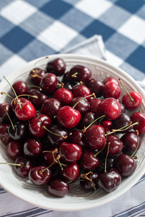 Cherries - Styled Food Photography