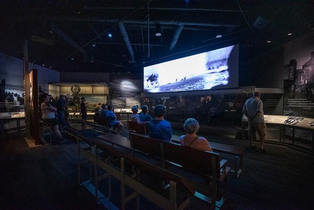 Eisenhower Museum Video of World War II