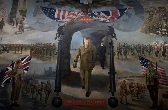 Eisenhower Museum Wall Mural