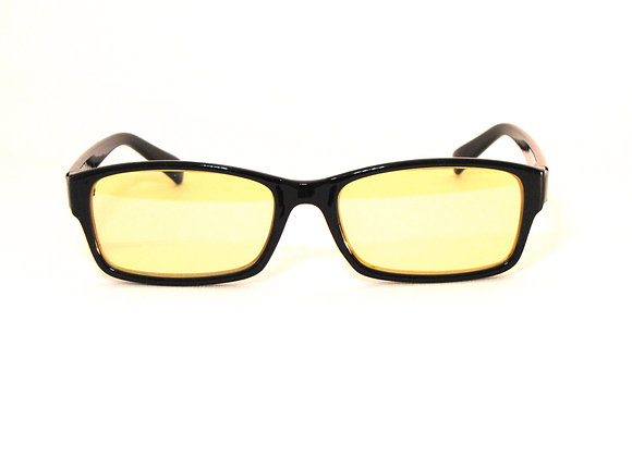 Rama Classic yellow lens blue light glasses front