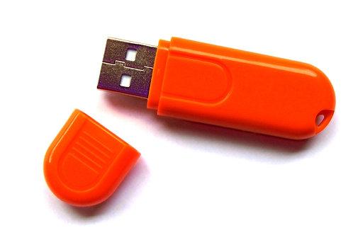USB Orange Night Light