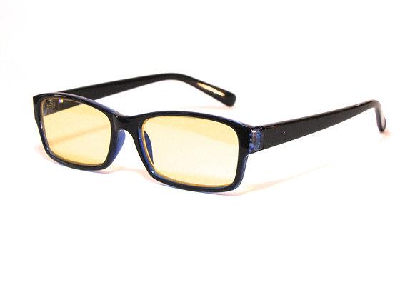 Rama Papanui yellow lens blue light glasses side