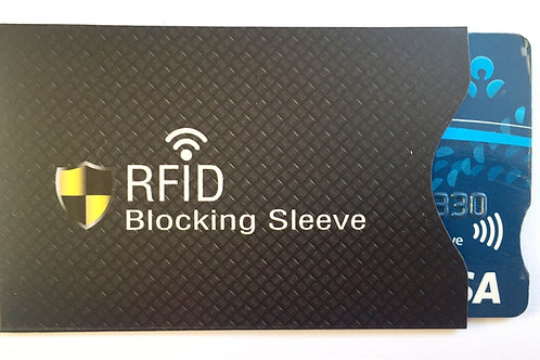 RFID Protection for credit cards