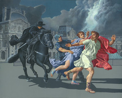 Escape from the Louvre, Zorro