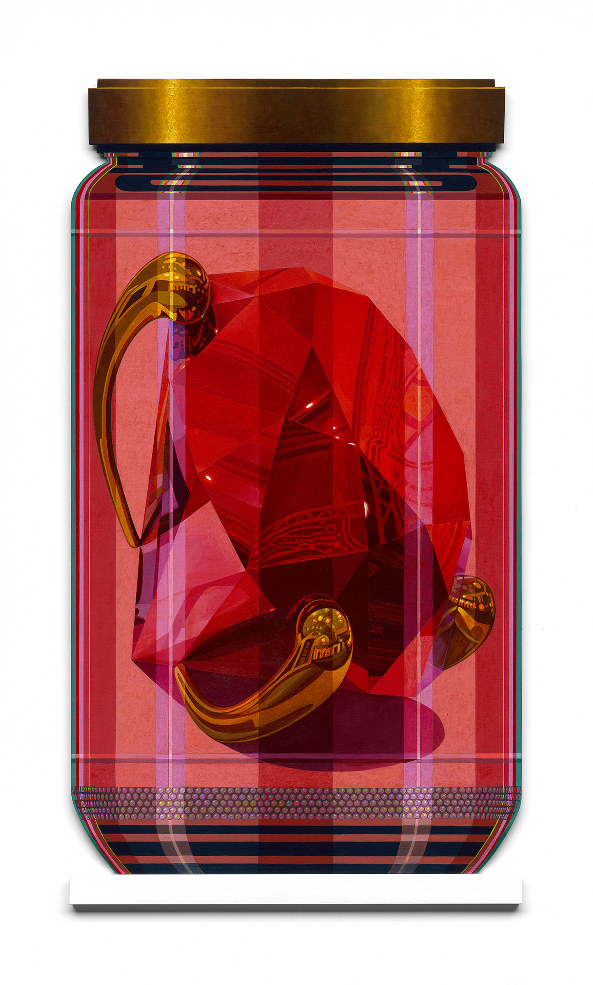 "Koons 2 PXL ""Red Brilliant"""