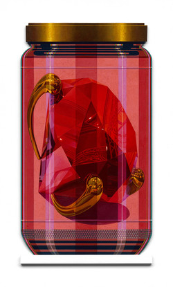 "Koons 2 PXL ""Red Brilliant"""