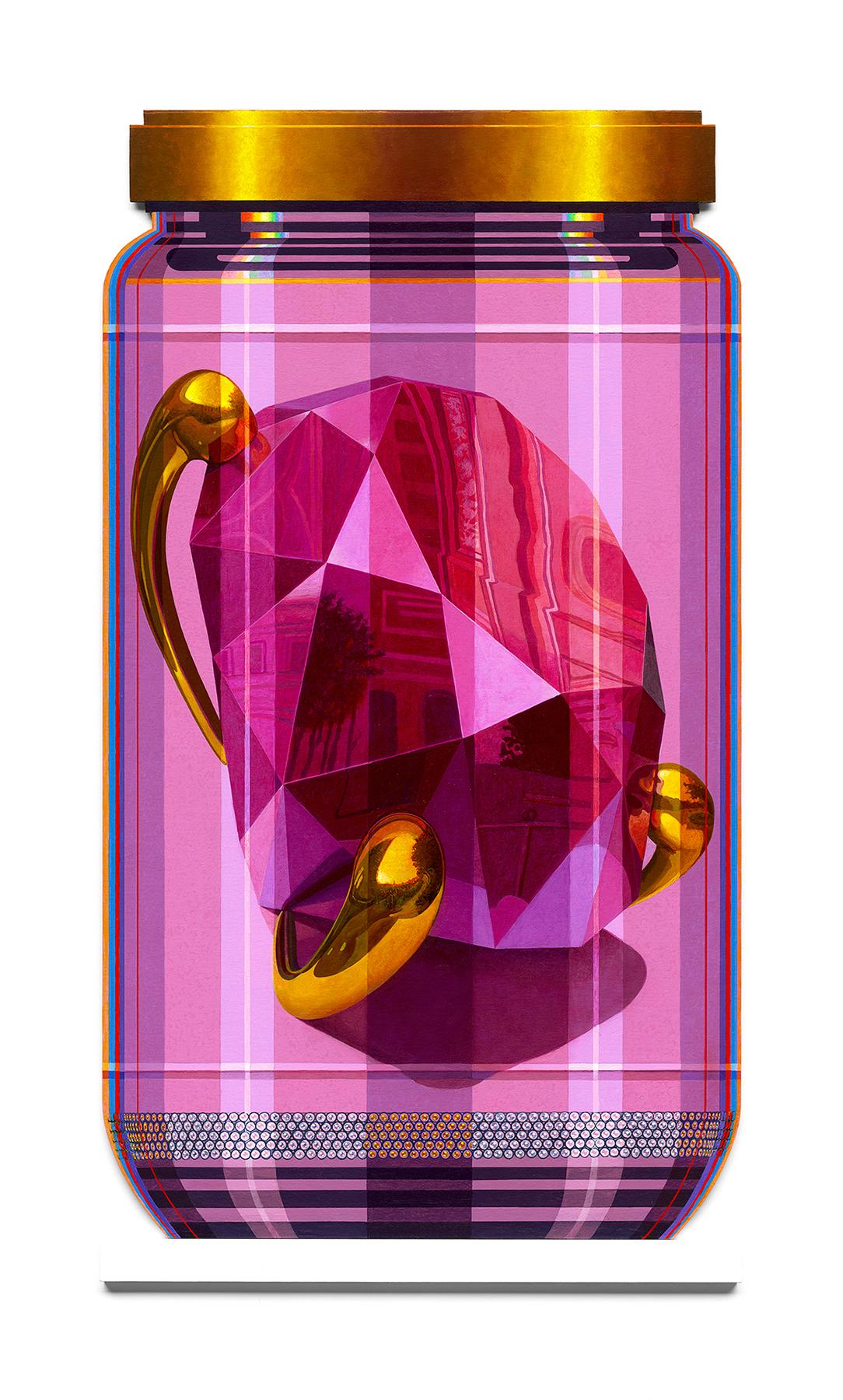 """Koons 3 PXL """"Pink Brilliant"""""""