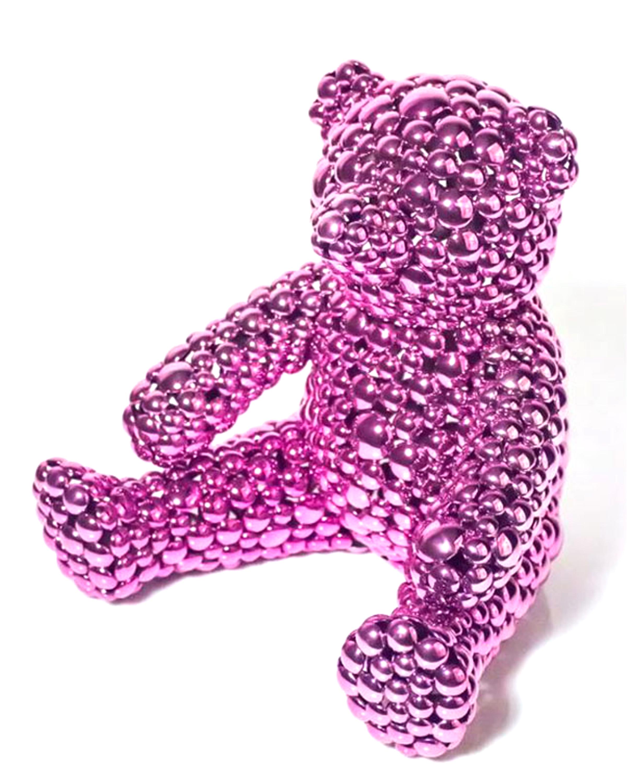 Magenta Teddy Bear
