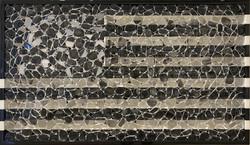Black USA Flag