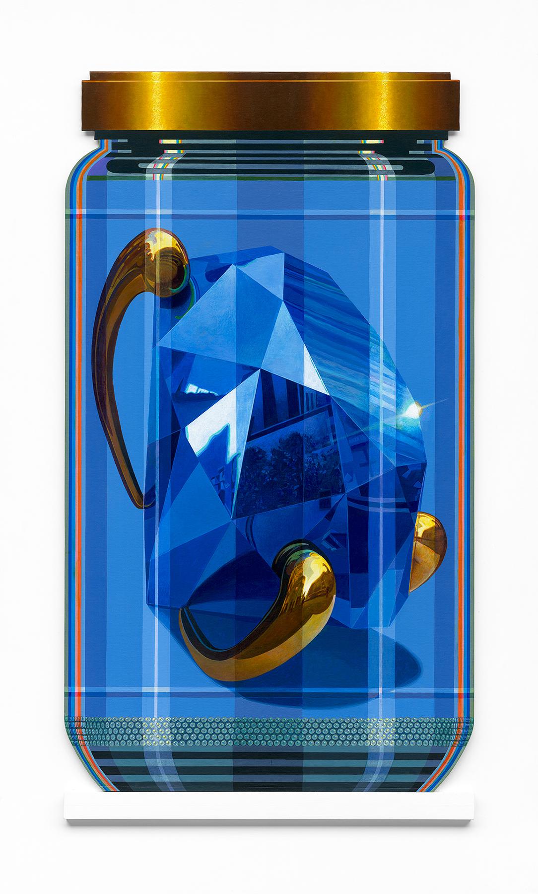 "Koons 1 PXL ""Blue Brilliant"""