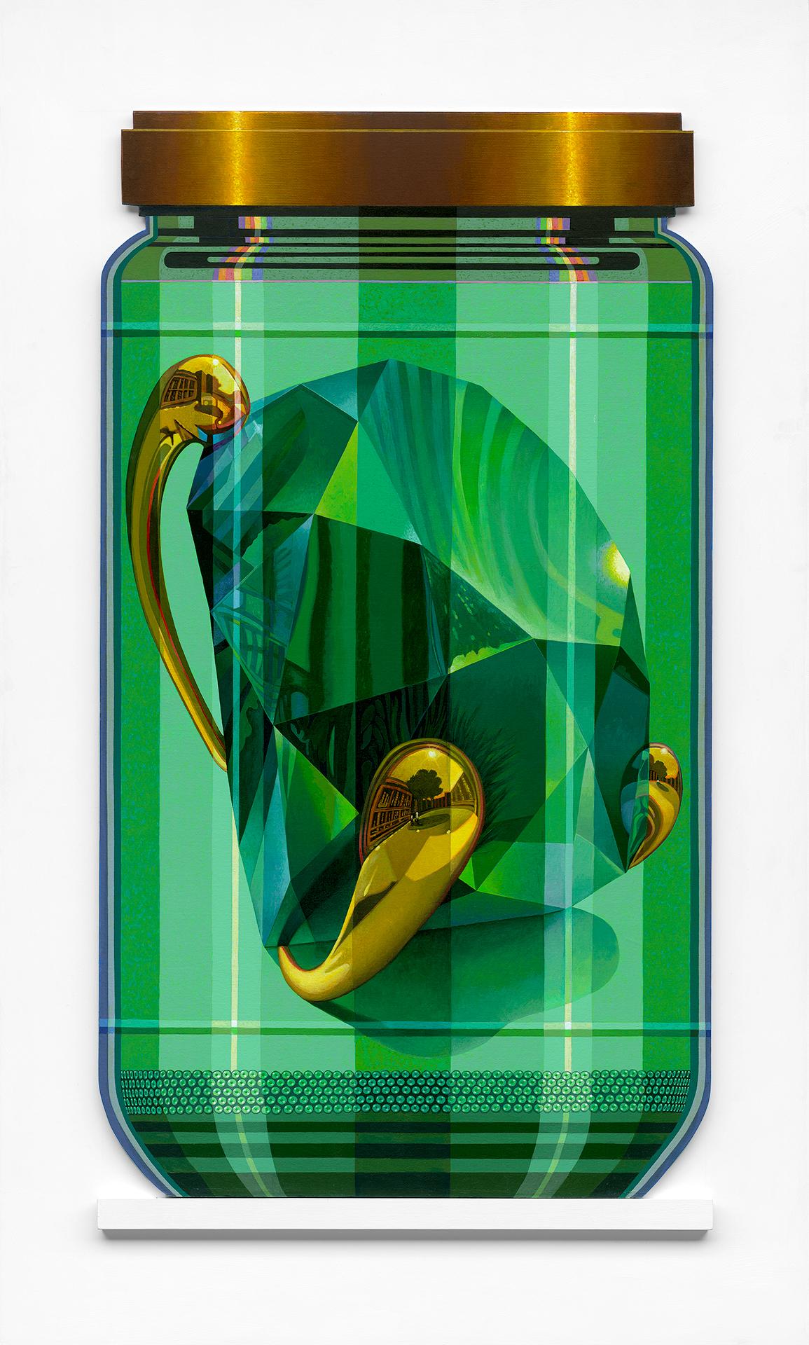 """Koons 4 PXL """"Green Brilliant"""""""