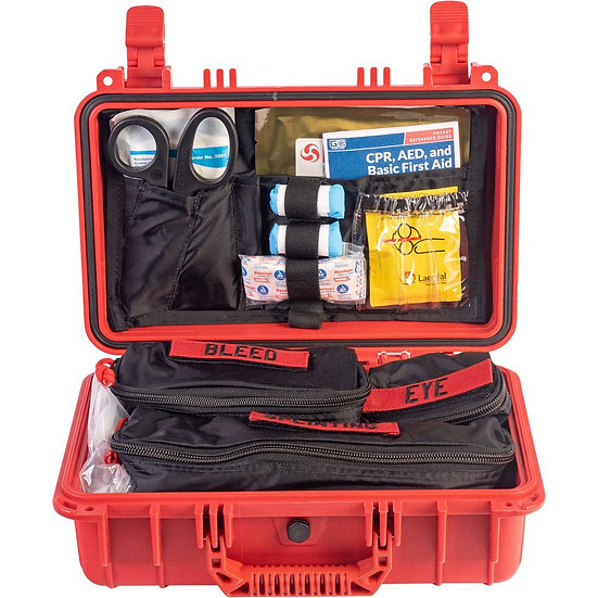Trauma and First Aid Kit Hard Case- Class A