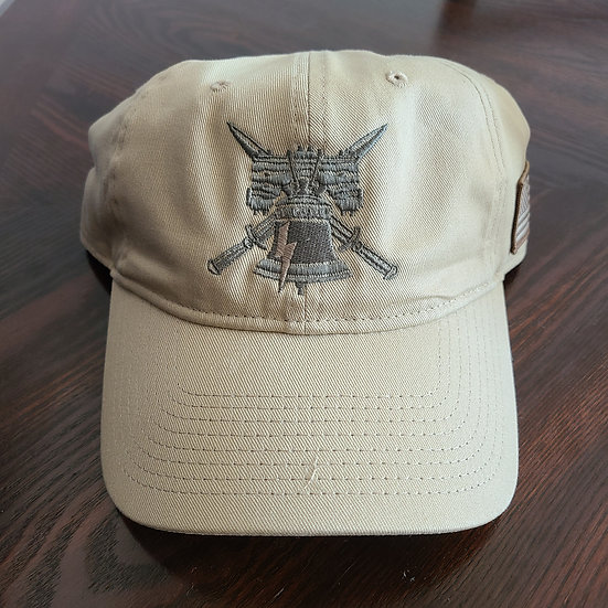 Tactical Hat with PTS Logo and American Flag
