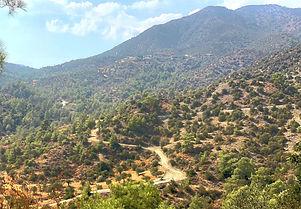 Gravel cykling i Cypern