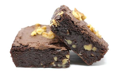 Walnut Brownie Squares
