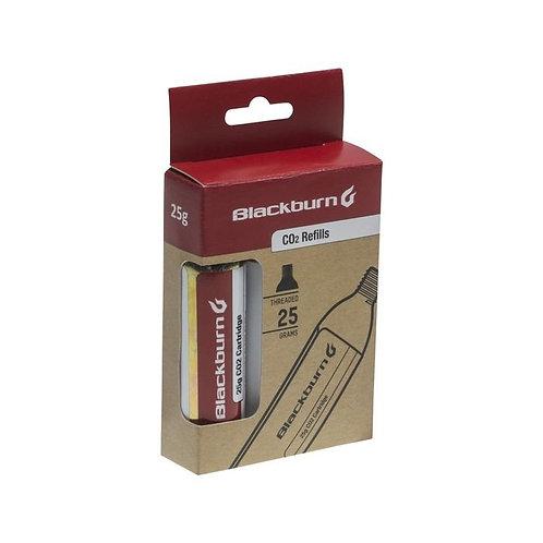 Blackburn CO2 25G 3-Pack Threaded Cartridges